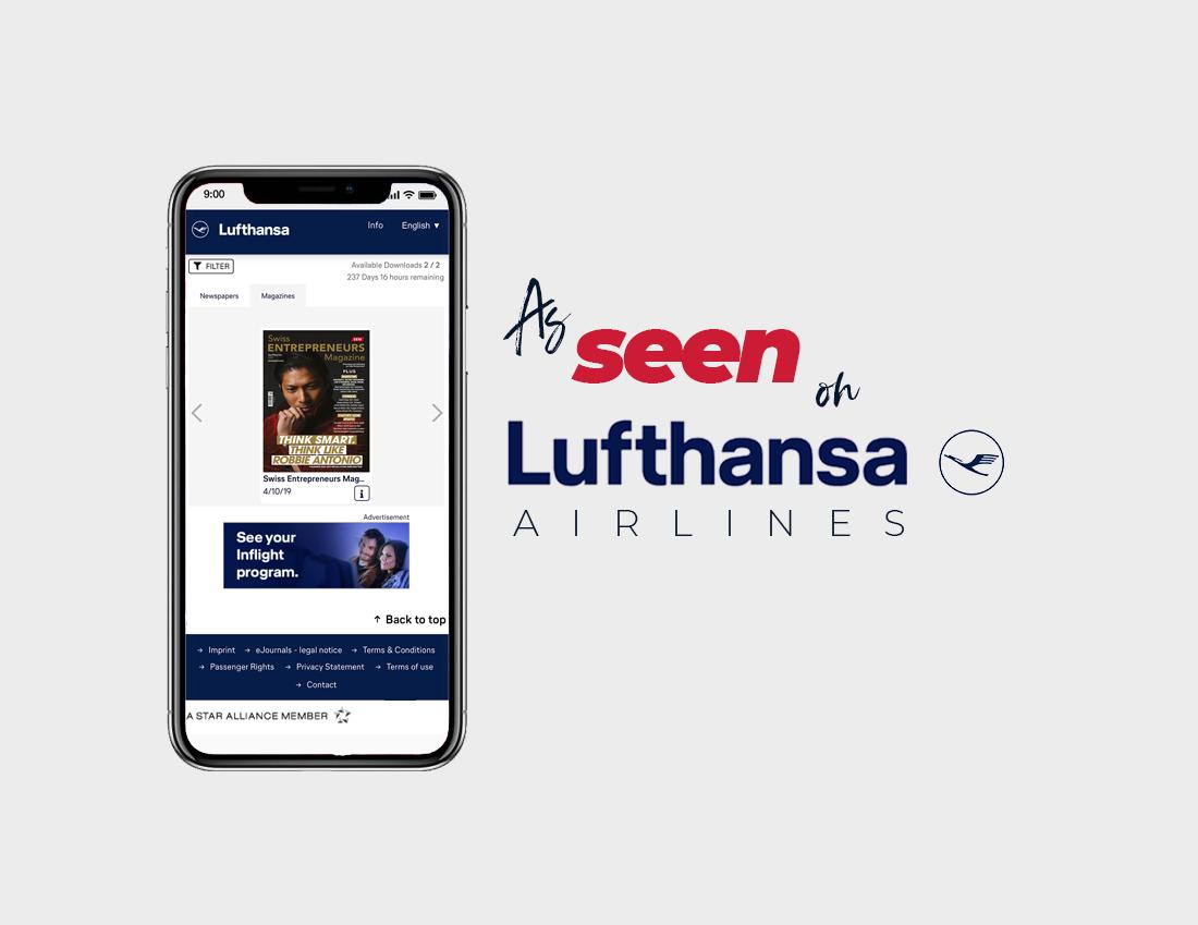 Swiss-entrepreneurs-magazine-on-lufthansa